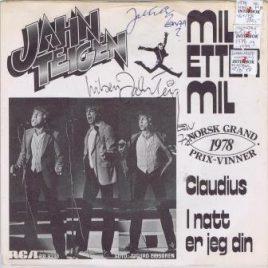 Jahn Teigen – Mil etter mil (signert)