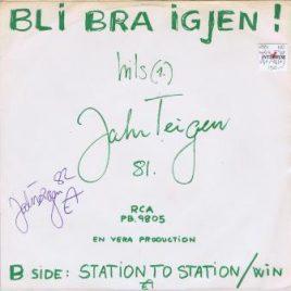 Jahn Teigen – Bli bra igjen