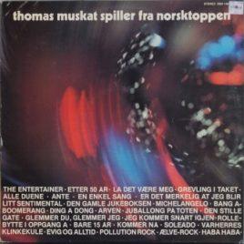 Thomas Muskat spiller fra Norsktoppen