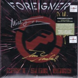 Foreigner – Can't slow down (CD + 7″ singel)