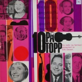 10 på topp fra radio og fjernsyn