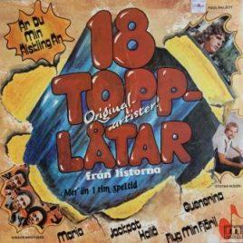 18 Topplåtar (div. art.)